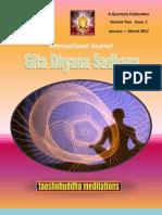 International Journal of Gita Dhyan Sadhna Jan-march 2012