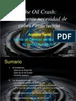 """Presentación """"The Oil Crash"""" por Antonio Turiel"""