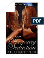 A.D. Christopher - Necessary 02 - Necessary Seduction