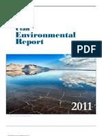 2011 Utah Report on the Environment