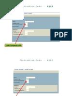 End User Manual Vendor Master Creation