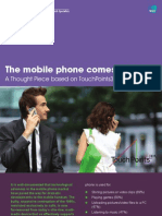 1406 IpsosMediaCT the Mobile Phone Comes of Age Feb2011