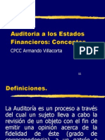 Auditoria Financier A Definiciones