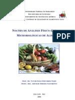 Nocoes Sobre Analise de Alimentos_Apostila