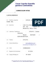 Curriculum Cesar Caycho