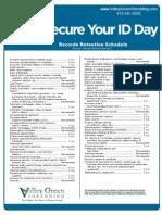 Records Retention Guideline