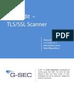 SSL Audit - Documentation