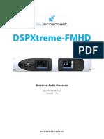 DSPXtreme-FMHD v130 Manual