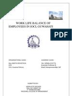 Project on Worklife Balance