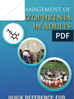 QR Management of Schizophrenia in Adults