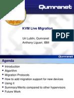 KvmForum2007$Kvm Live Migration Forum 2007