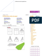 12 Diferentes aviões de papel _ Insoonia