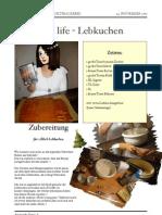 Janas Still Life Lebkuchen