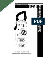 UEiDL250 Manual