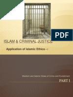 Islam & Criminal Justice