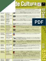Programación Cultural Enero 2012