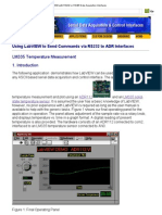 RS232 or RS485 Data Acquisition Interfaces