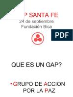 GAP Santa Fe. Hacia Una Cultura de Paz