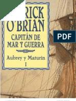 O'Brian, Patrick - 01 - Capitan de Mar y Guerra (1970)eBook