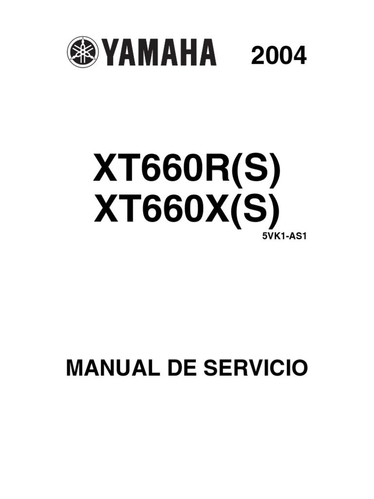 XT660R(S) XT660X(S): Manual De Servicio
