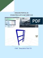 Tutorial SAP2000 Vs STAAD PRO