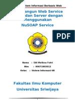 Membangun Web Service Client Dan Server Dengan Menggunakan (Siti Melissa Futri_09071003012)