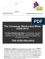 CES 2012 Buzz Roll - Diversity Mixer at CES, Barcode Mardi Gras Beads and More!