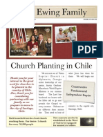 Ewing Family, Church Planting Missionaries to Chile - Packet