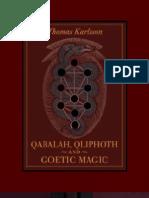 Kabalah, Qliphoth and Goetic Magic