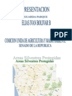 Elías Bolívar, Presentación