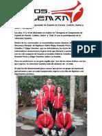 Campeonato de España de Karate  Cadet2