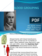 Blood Grouping New