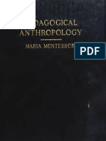 1 Pedagogical Anthropology