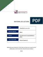 Guía de prácticas PPoint 2010