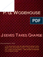 P. G. Wodehouse - Jeeves Takes Charge (Jeeves is Employed by Bertie)