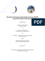 BTOP Quarterly Congressional Report - 12-2011