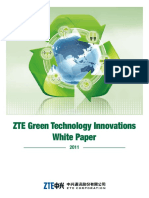 ZTE Green Technology Innovations White Paper 2011