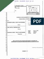 Bankruptcy 00-03615 Declaration by Mchaffie
