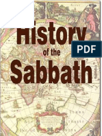 History of the Sabbath - J N Andrews
