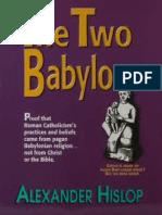 Two Babylons - Alexander Hislop 1858