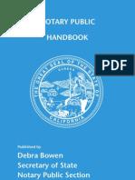 Notary Handbook 2011