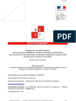 BETA Programme - Rapport Complet