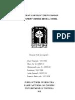 Sistem Informasi Rental Mobil
