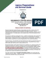 Disaster Emergency Survival Guide