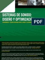 sistemas de sonido Diseño y optimización