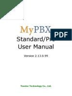 MyPBX Standard&Pro User Manual En