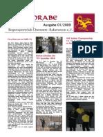 Bogenrabe Clubmagazin Ausgabe 01 / 2009