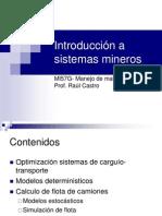 Clase 12- Introduccion a Sistemas Mineros