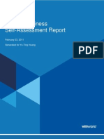 Cloud Readiness Self-Assessment Report