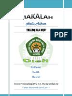 Thalaq Dan Ruju' PDF